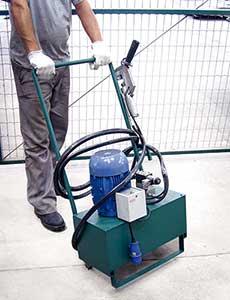 Cravadora Hidráulica para Perfil - POWERMATIC